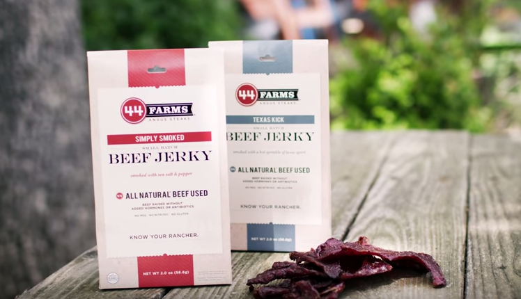 44 Farms Beef Jerky at the Smokehouse