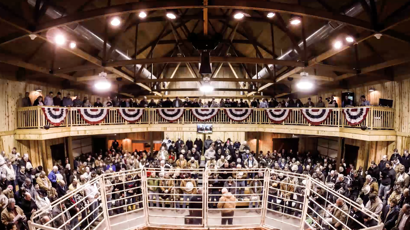 2015 Prime Cut Bull Sale Time-lapse